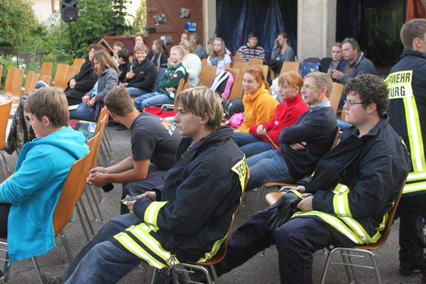 Fotogalerie Open-Air-Kino Wittendorf Juli 2011