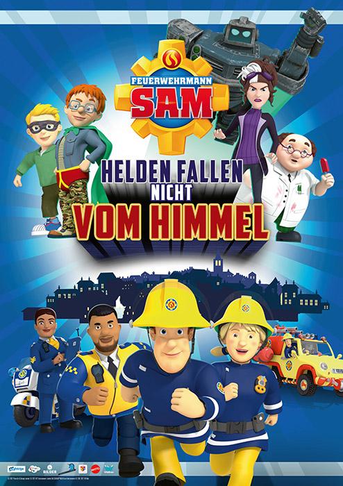 Hauptfoto Feuerwehrmann Sam - Helden fallen nicht vom Himmel
